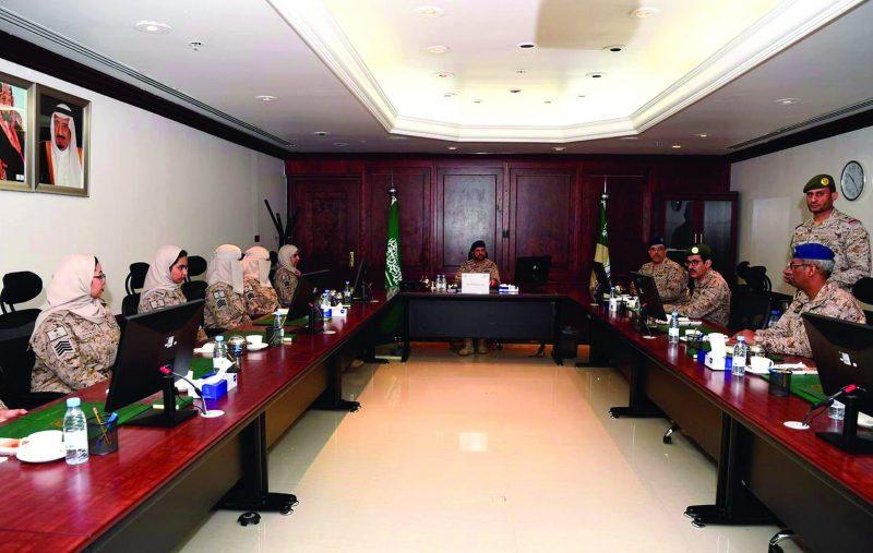 افتتاح أول قسم نسائي عسكري في القوات المسلحة