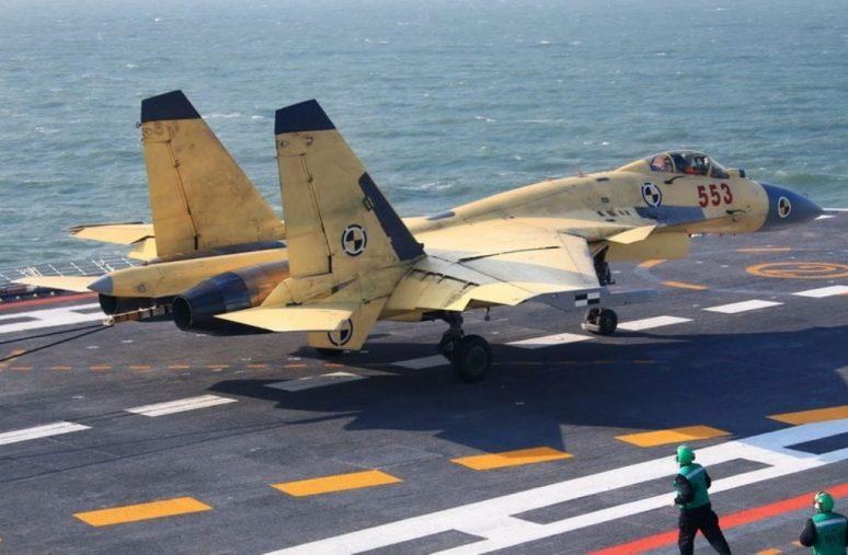 الصين الإعلان عن إنشاء جيل جديد من المقاتلات القائمة على حاملات الطائرات