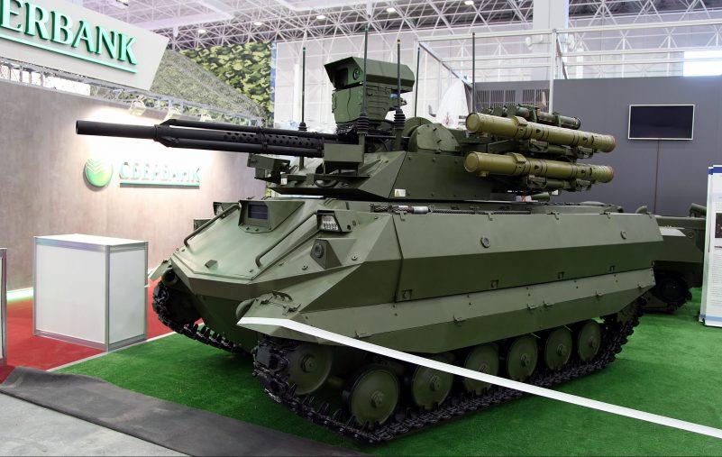 وزير الدفاع الروسي يعلن عن إطلاق إنتاج روبوتات المقاتلة على دفعات 2