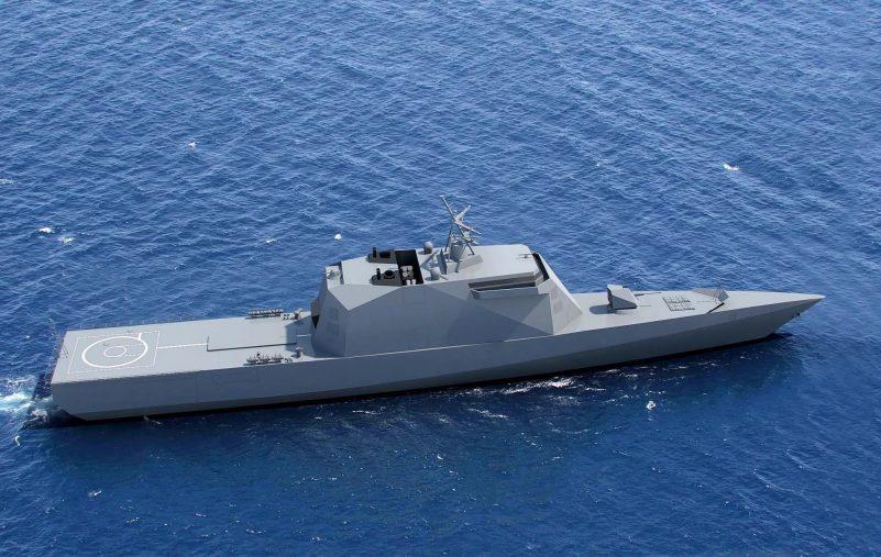 البحرية الروسية تتسلم أول فرقاطة شبحية