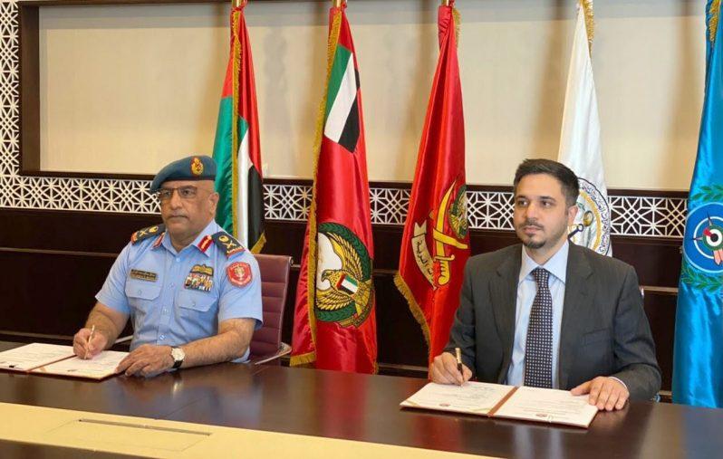 """اللجنة العسكرية المنظمة لـ """" دبي للطيران """" توقع شراكة مع """" SPPS """" لإدارة مؤتمر قاده القوات الجوية2"""