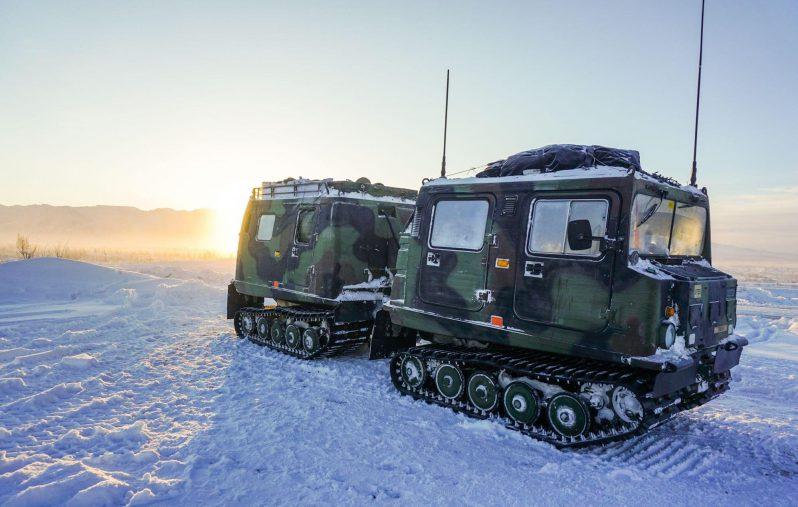 الولايات المتحدة الجيش الأمريكي يعلن عن مناقصة لمركبة قطبية جديدة لجميع التضاريس