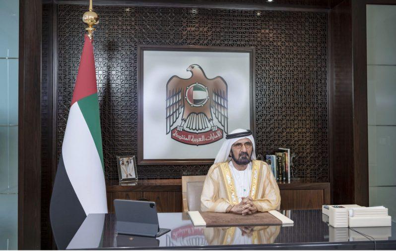 محمد بن راشد يشهد حفل تخريج الدفعة الـ 41 من طلبة جامعة الإمارات2