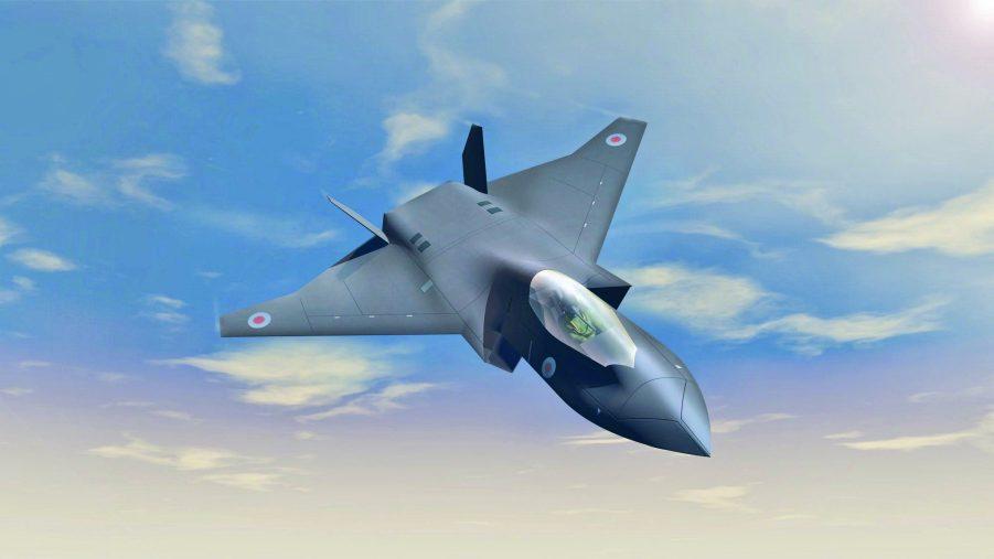 شركة-بي-إيه-إي-سيستمز-تكشف-عن-مفاهيم-تصميم-رقمي-لتشكيل-الجيل-التالي-من-الطائرات-المقاتلة-1