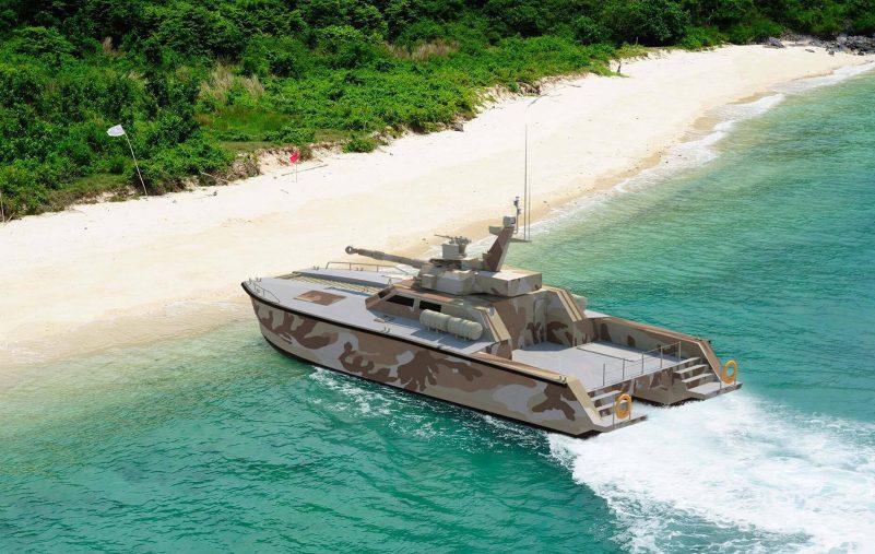 إندونيسيا تنجح باختبار دبابتها المائية 2