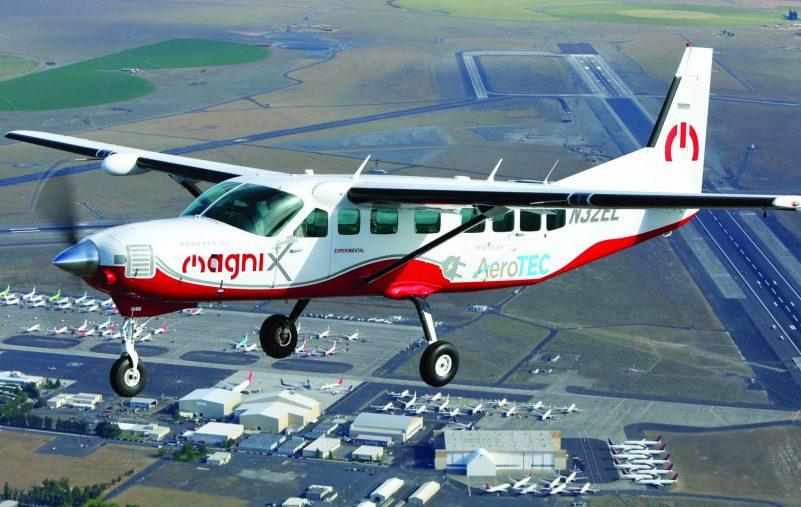 أكبر طائرة كهربائية في العالم تنجح بأول تجربة طيران (2)