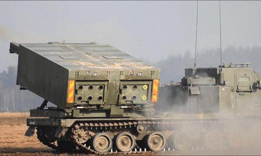 تحديث مدى أنظمة إطلاق الصواريخ المتعددة M270 (MLRS)