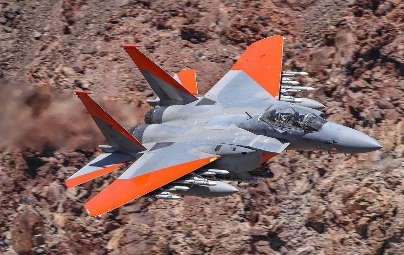 أحدث مقاتلة المريكية طراز F-15EX