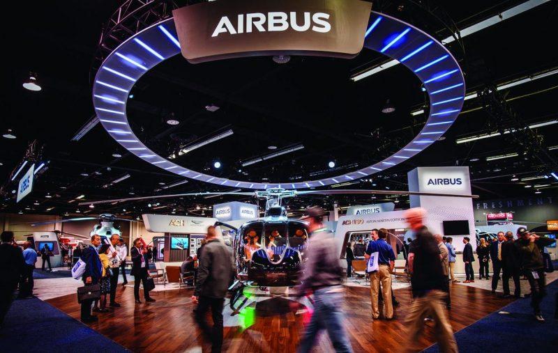 Airbus Heli-Expo 2020 booth_صورة
