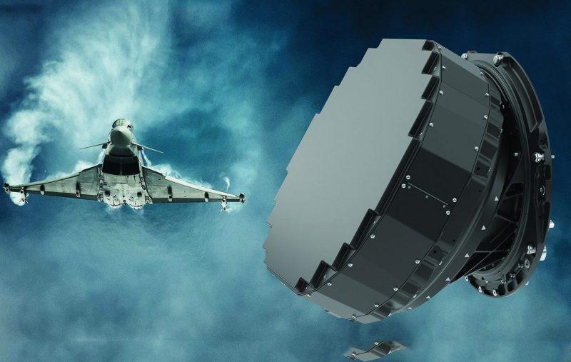 HENSOLDT-Mk1-Radar_EFA2+Antenne