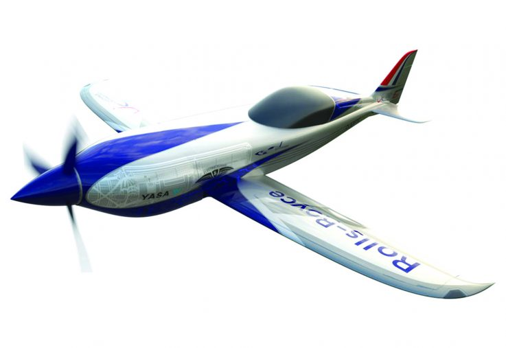 Rolls-Royce unveils all-electric plane targeting the record books (7)