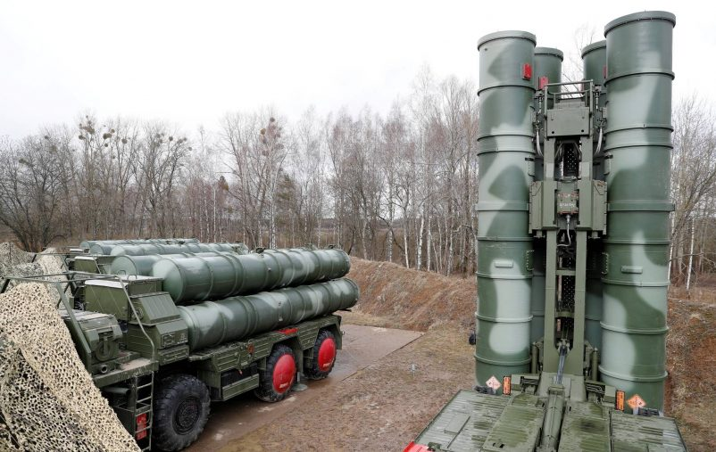 FILE PHOTO: A view shows a new S-400